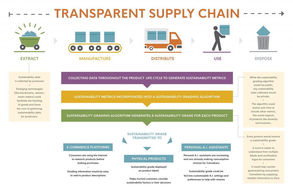 Transparent Supply Chain Infographic